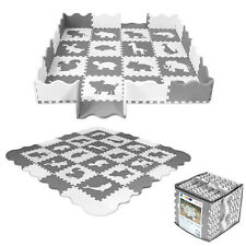 52-tlg Puzzlematte Spielmatte Spielteppich Kinderteppich  Schutzmatte