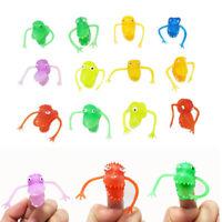 Finger Cartoon Puppet Toy Animal Dinosaur Plastic Figure Toys Mini Hand Puppets