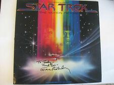 GENE RODDENBERRY - STAR TREK - Rare AUTOGRAPHED 1979 RECORD ALBUM - HAND SIGNED