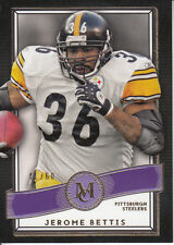 2015 TOPPS MUSEUM COLLECTION JEROME BETTIS STEELERS BASE PURPLE PARALLEL 41/60