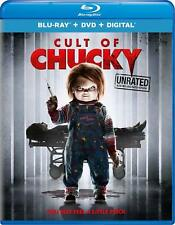 Cult of Chucky (Blu-ray Disc, 2017, 2-Disc Set) BRAND NEW w/Lenticular Slipcover