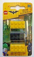 1 pack of 3 Lego Batman eraser party favor school supply teacher reward brick