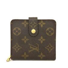 Louis Vuitton Monogram Compact Zip Bifold Wallet /90859