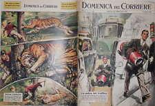 LA DOMENICA DEL CORRIERE 17 febbraio 1963 Auto Pecori Sandro Mazzola Costa Verde
