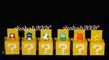 Takara Tomy Super Mario Bros Wii Box keychain figure gashapon (full set 6 pcs)
