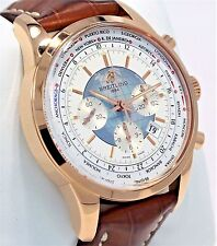 Breitling Transocean RB0510U0/A733 Chrono Unitime 18K Rose Gold B/PAPERS *MINT*