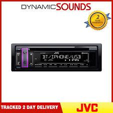 JVC KD-T801BT Bluetooth Estéreo CD/USB/MP3 Sintonizador de Radio Android Iphone