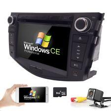 "7"" Car CD DVD Player GPS NAV Bluetooth Radio Camera Head Unit for TOYOTA RAV4"