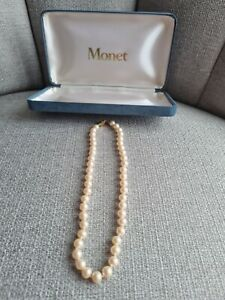 Monet Cream Pearl Necklace