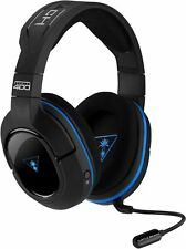 Turtle Beach Ear Force Stealth 400 Wireless Stereo Gaming Headset PS4 PS3