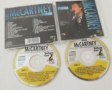 PAUL MCCARTNEY WASHINGTON 1990 4TH JULY ORIGINAL collectors 2 CD BEATLES