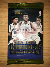 2015 Panini Contenders Draft Picks Basketball Hobby Pack Booster