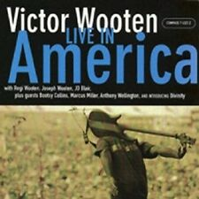Victor Wooten - Live in America [New CD]