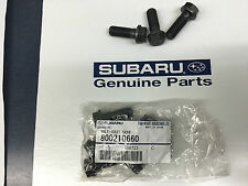 SUBARU Impreza OEM 800210660 Flywheel Bolt kit SET Outback Forester Legacy x8