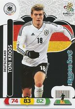 TONI KROOS # RISING STAR 1/30 DEUTSCHLAND CARD PANINI ADRENALYN EURO 2012