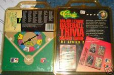 Classic MLB trivia board game 1991 series edition 2