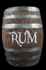 Barrel Keg Pirate Western Saloon Rum Halloween Jack Sparrow skull prop