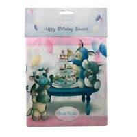 Me to You Blue Nose Friends - Happy Birthday Party Banner