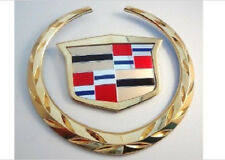 "Cadillac ""ESCALADE EXT"" Rear Emblem! 24K GOLD PLATED!"