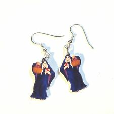 Snow White Witch Earrings Evil Queen Charms