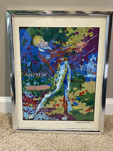 """ARNOLD PALMER GOLF SWING BY TED TANABE 13x16""""."""