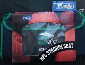 Vintage Philadelphia Eagles Team Nfl Padded Stadium Seat By Swank