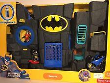 Fisher Price Imaginext DC Super Friends Batcave Batman Robin Exclusive NEW