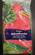 Saenger Sanger Quality Hot Water Bottle Natural Rubber 2 Liters Made in Germany