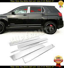 For 2010-2017 GMC Terrain 6pcs Stainless Steel Polished Chrome Door Pillar Posts