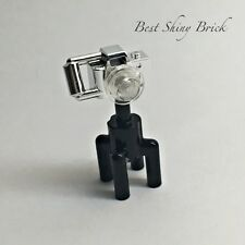 Lego Chrome Silver Camera Tripod 30089 *New*