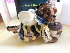 Boyds Bearstone Sage Buzzby ornament #25715 6th edition