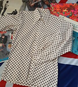 LATE 1960s EARLY 70s PEGASUS PERMANENT PRESS FITTED SHIRT. MOD!