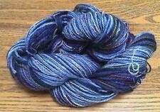 Reclaimed Rainbows by Done Rovings - Wool, Multi-Texture Yarn - Bulky - OOAK