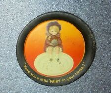 old tin litho Fairy soap advertising tip tray