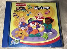 2007 Fisher price little people silly songs music cd