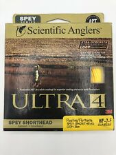 Scientific Anglers Ultra 4 Fly Line Spey Shorthead WF7 Floating Sunrise 36m