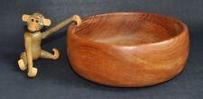 Vintage Mid Century Design I Teak Obstschale Anbieteschale I Wood Bowl I 60/70er