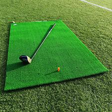 FORB Academy Roll-Up Golf Practice Mat (1.5m x 1m) Beginner Fairway Stance & Hit