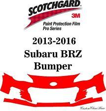 3M Scotchgard Paint Protection Film Pro Series Fits 2014 2015 2016 Subaru BRZ