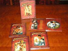 SAGA LE AVVENTURE DI INDIANA JONES COFANETTO EDIZIONE SPECIALE 4 DVD NO BLURAY