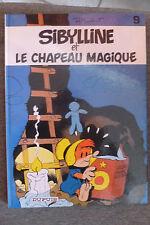 BD sibylline n°9 et le chapeau magique EO 1983 TBE macherot inversé