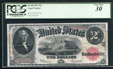 FR. 60 1917 $2 TWO DOLLARS LEGAL TENDER UNITED STATES NOTE PCGS VERY FINE-30