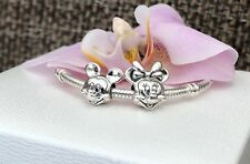 Pandora Disney Mickey and Minnie Charms, Bracelet Beads, Original,New, LOT of 2