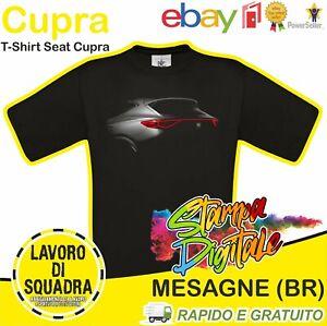T-Shirt Seat Cupra Formentor Ateca Leon Regalo Car Italian Automobile Auto DTG