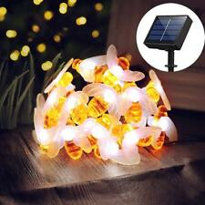 Solar Powered 30 LED String Fairy Lights Garden Outdoor Xmas Party Decor Lamp
