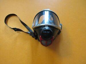 Atemschutz Gummi Maske Dräger Panorama Nova Überdruck M45x3 Gewinde RD 45