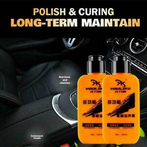 Car Auto & Leather Refurbished Renovated Coating Paste Maintenance Agent 120ML