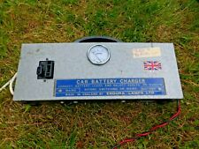 British  Vintage Car Battery Charger 6 /12 Volt supply Retro Memorabilia