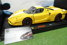 FERRARI FXX jaune au 1/18 HOT WHEELS ELITE L7123 voiture miniature de collection