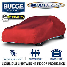 Indoor Stretch Fits Car Cover Fits Chevrolet Nova 1970, Red